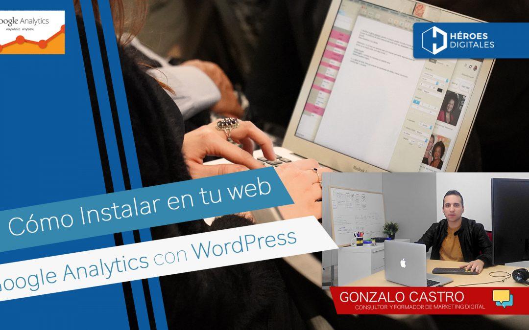 Instalar Google Analytics en tu página web de WordPress sin código