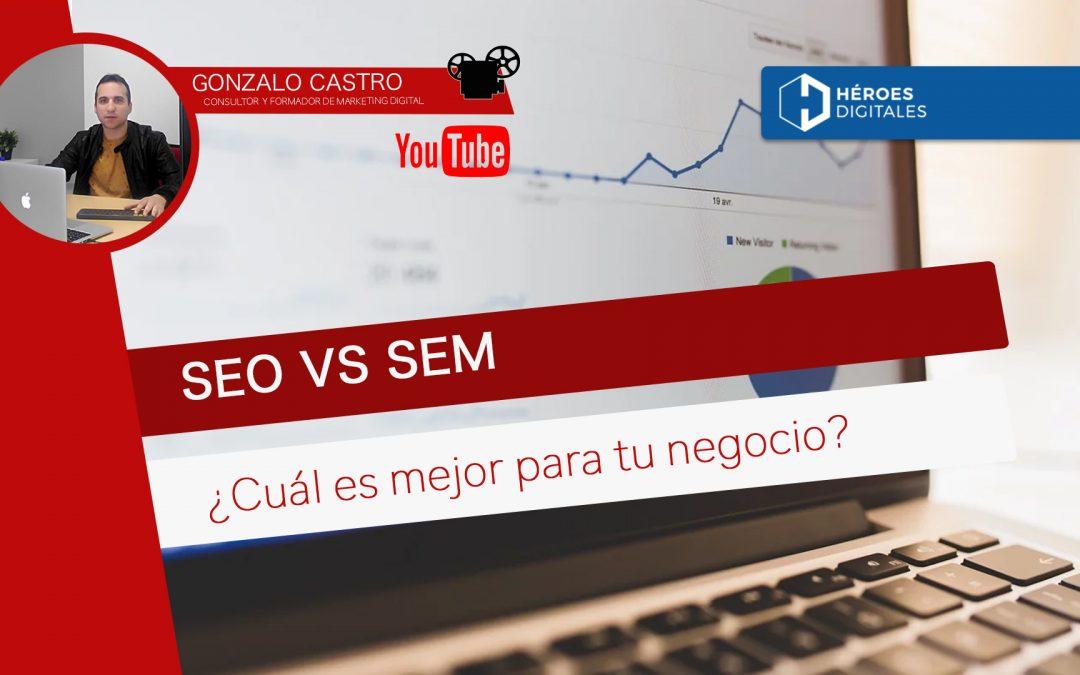 SEO vs SEM: ¿Cuál es la mejor estrategia de marketing para tu negocio?
